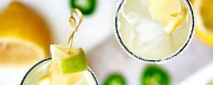 Jalapeno Coconut Lemonade