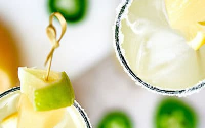Kicked Up Jalapeno Coconut Lemonade