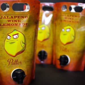 Jalapeno Wine Lemonade