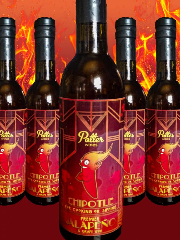 Potter Wines Chipotle Jalapeno Wine