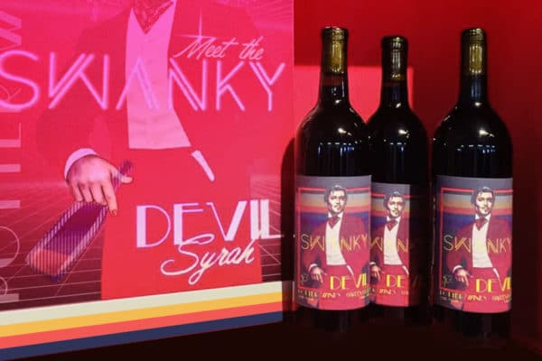 Swanky Devil Syrah Red Wine Garden City Wine